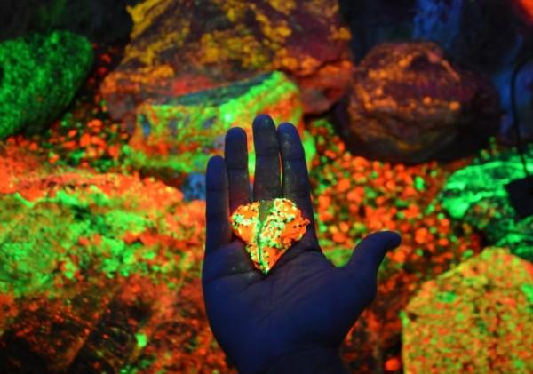 Виды люминесценции в ультрафиолете