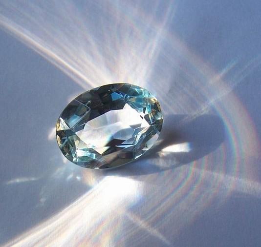 Голубой топаз это не камень с металлическим блеском