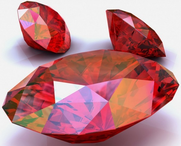 Какого цвета рубин
