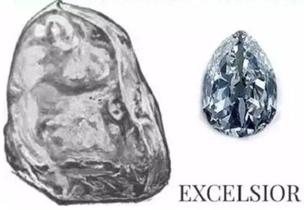 В наше время бриллиант Эксельсиор купить невозможно так как они находятся в частных коллекциях