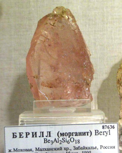 Берилл какой камень