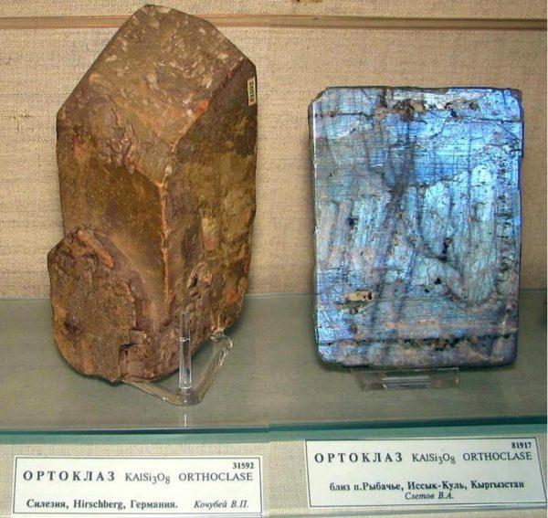 Полевой шпат это минерал или горная порода
