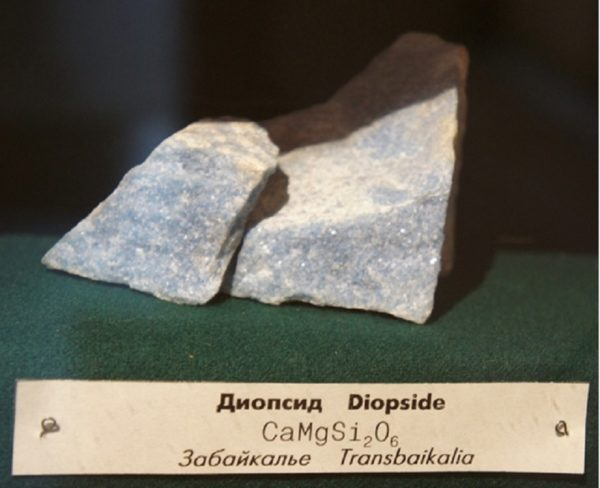 Диопсид свойства