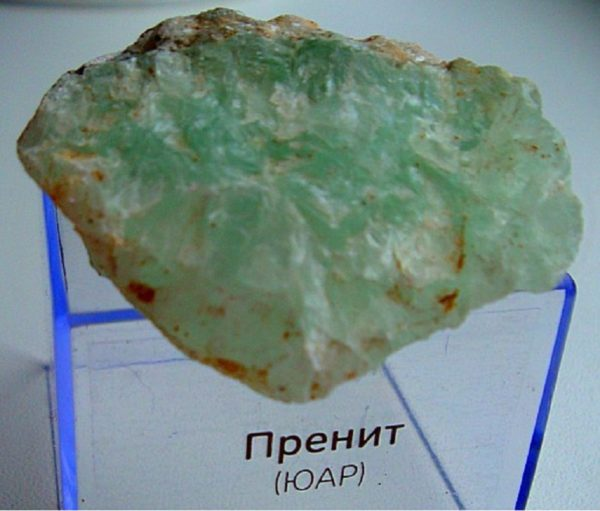 Кристалл пренит свойства