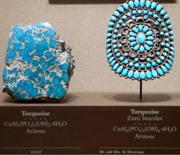 Фото камня бирюза в природе и украшениях