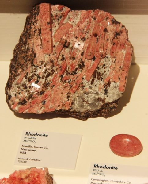 Родонит свойства камня