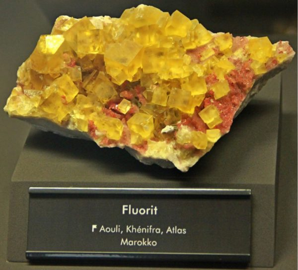 Химический состав флюорита CaF2